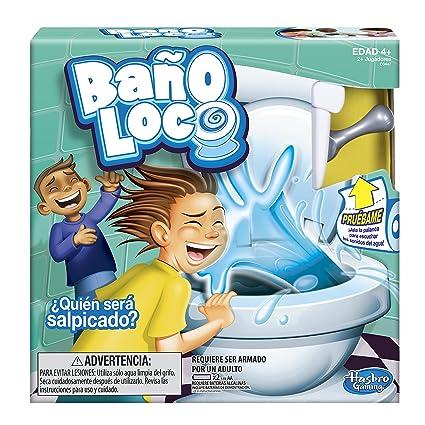Hasbro Gaming Juego De Mesa Bano Loco Amazon Com Mx Juegos Y Juguetes