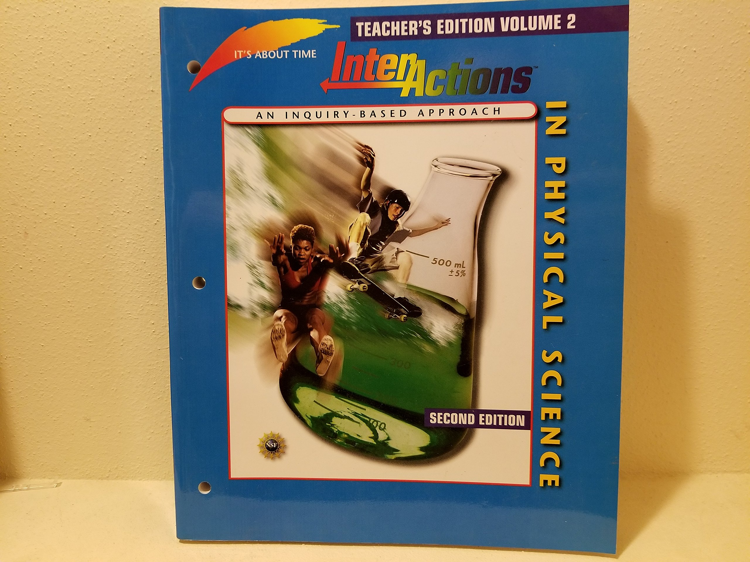 Download InterActions In Physical Science, Second Edition Teacher's Edition Volume 2 (It's About Time) PDF