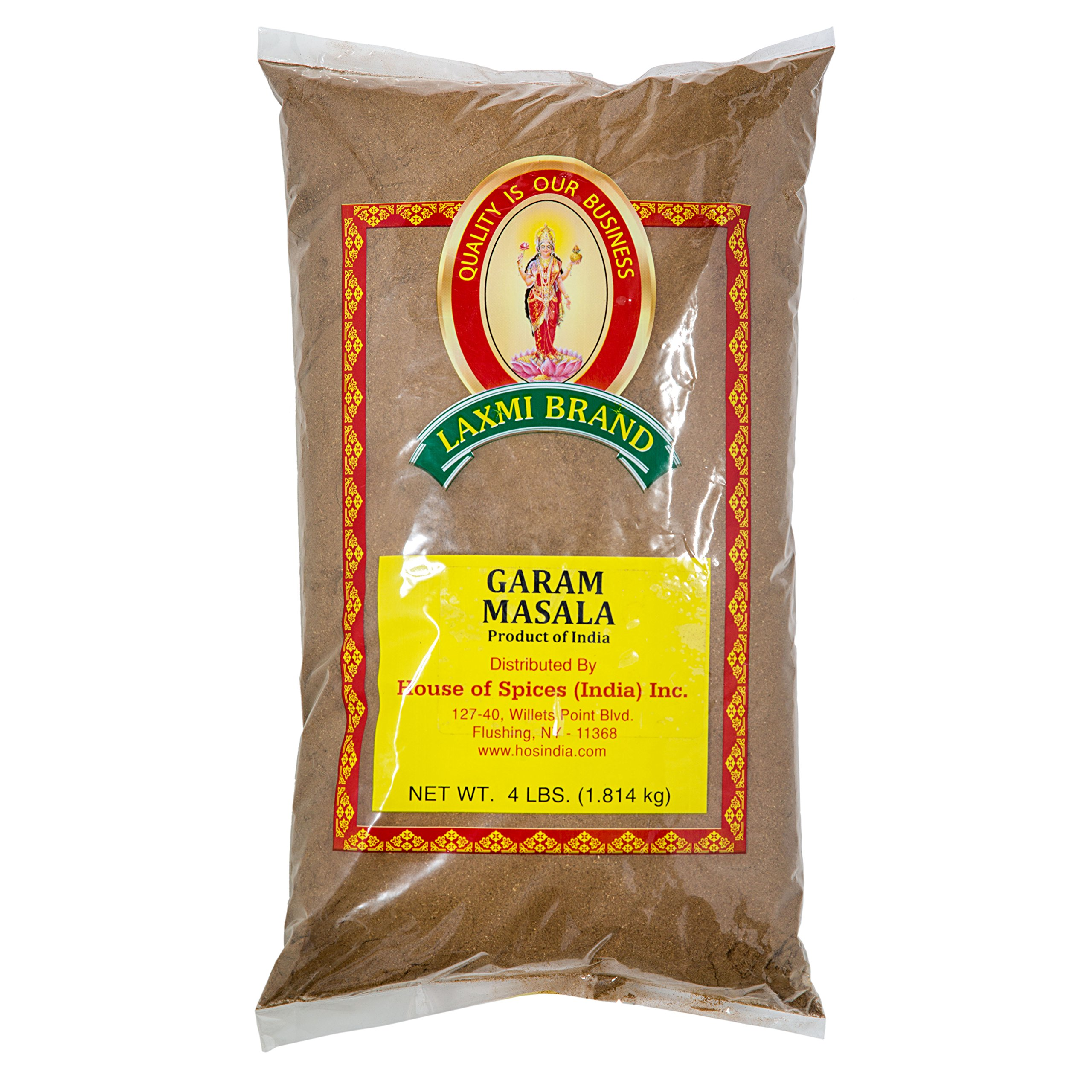 Laxmi Gourmet Traditional Garam Masala Indian Spice Blend - 4 Pound