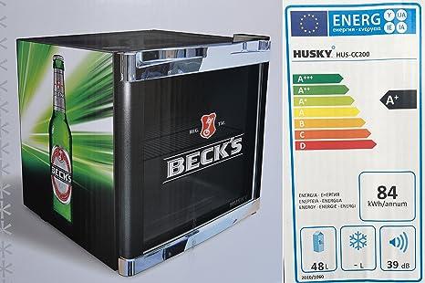 Kühlschrank Cube : Husky hus cc coolcube cool cube flaschenkühlschrank becks a