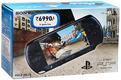 Buy Sony PSP E1004 Console Free Game Street Cricket II