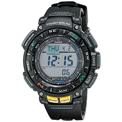 <strong>Casio Men's PAG240-1CR Pathfinder Triple Sensor Multi-function Sport Watch</strong>