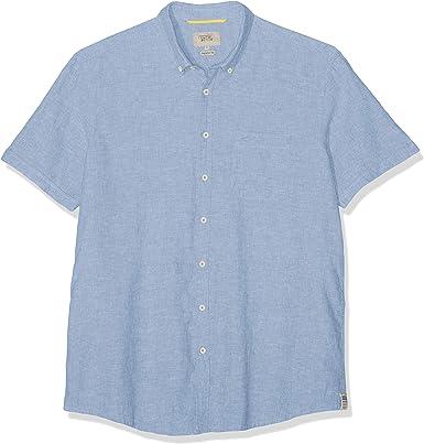 camel active Jack B.d. 1/2 Camisa, Azul, 46 (Talla del Fabricante:) para Hombre: Amazon.es: Ropa y accesorios
