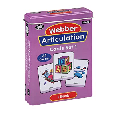 Super Duper Publications | Articulation L Blends Fun Deck | Vocabulary and Language Development Flash Cards | Educational Learning Materials for Children: Toys & Games [5Bkhe0306336]