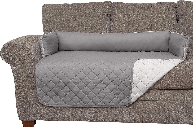 Navy//Light Blue Medium Fur Haven 49301015 Sofa Buddy Pet Bed Furniture Cover