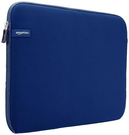 1658 opinioni per AmazonBasics- Custodia per computer portatile da 15- 15,6 pollici, blu navy