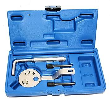 Rotools Motor Einstellwerkzeug Steuerkette Nockenwellen Werkzeug Passend Für Ford Transit 2 2 Tdci 979 Auto