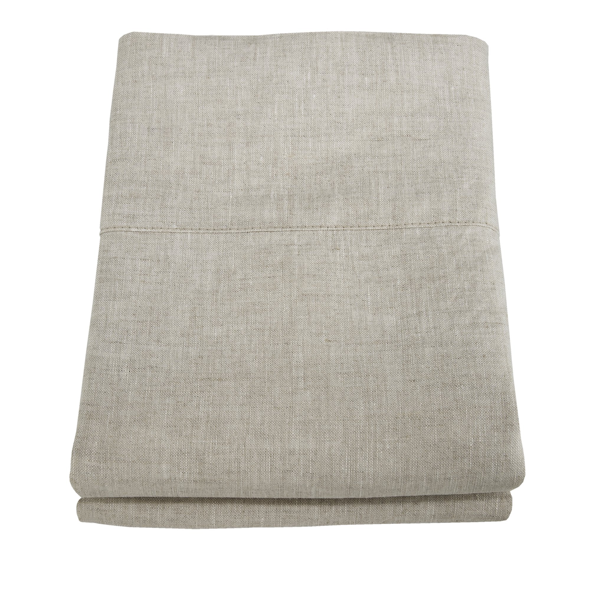Linoto 100% Linen Pillowcases 31x20, Standard, Natural Oatmeal