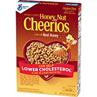 Honey Nut Cheerios Gluten Free Cereal With Oats, 10.8 Oz