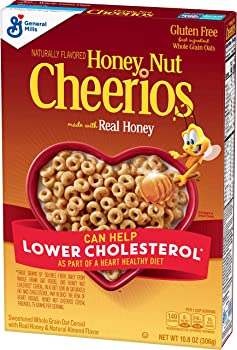 Honey Nut Cheerios Gluten Free Cereal With Oats 10.8 Oz