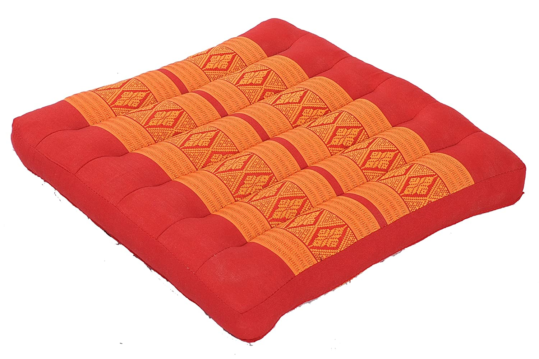 Thaimatten Set  Rollmatte 200x100 200x100 200x100 + Kissen 35x15x10 + Sitzkissen 40x40 Thaikissen Liege Set für Entspannung und Massage Thaikissen Liege Set grün 025de2