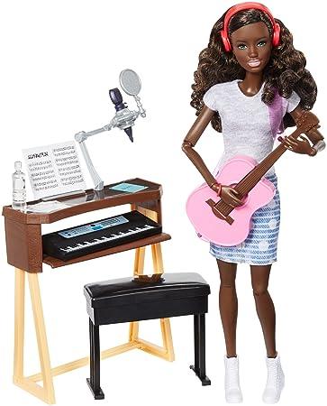 Barbie Musician Doll & Playset, Brunette by Barbie