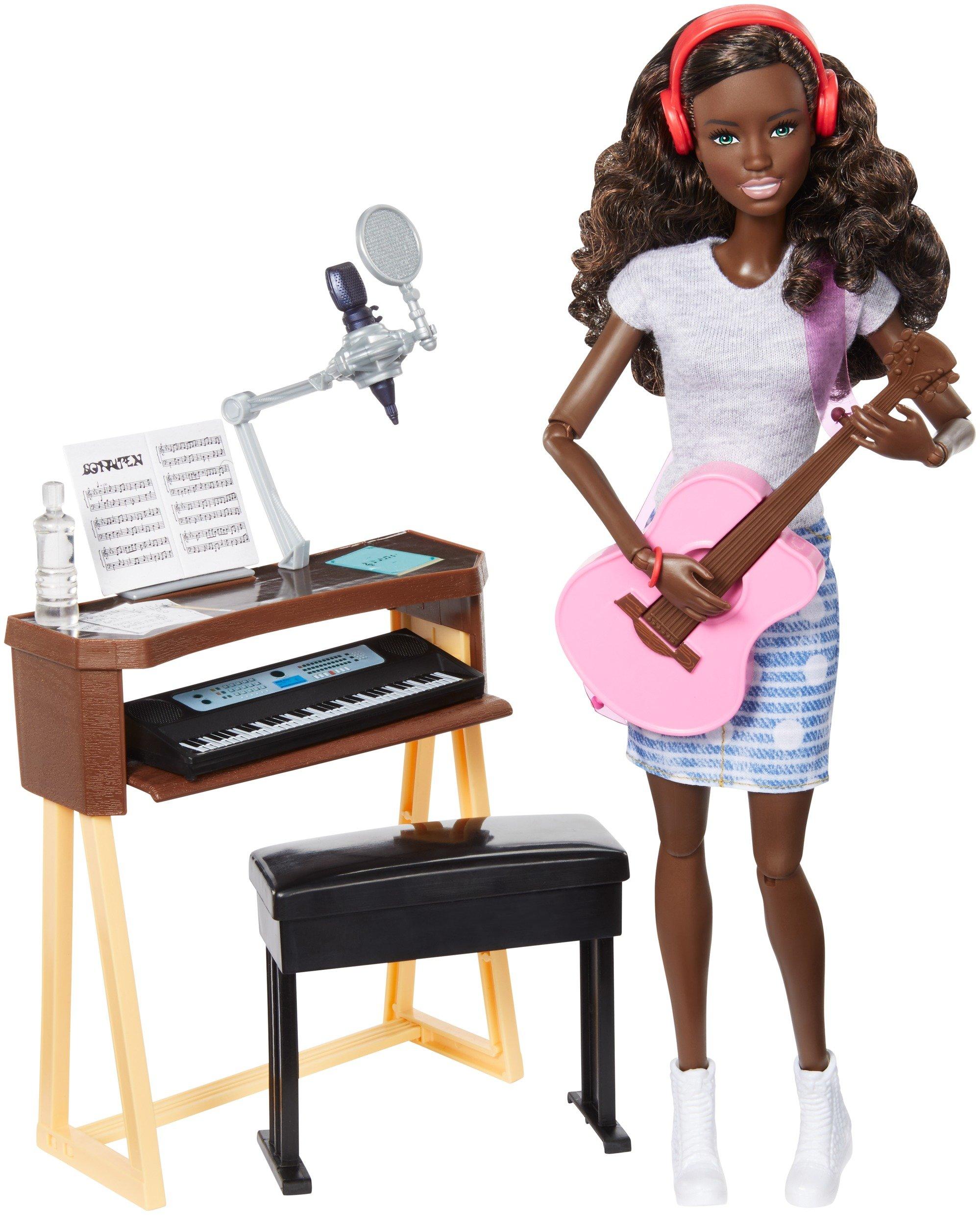 Barbie Musician Doll & Playset, Brunette