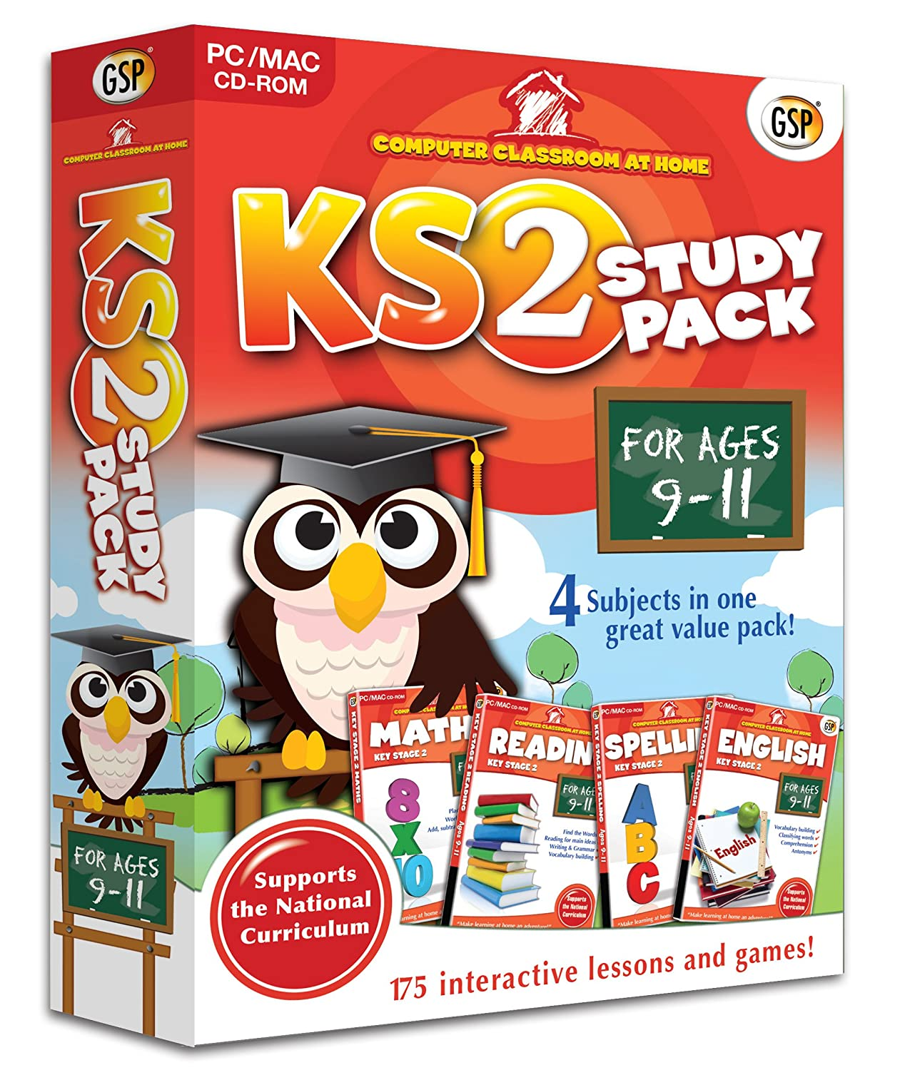 Computer Classroom at Home: Key Stage 2 Study Pack (For Ages 9-11 ...