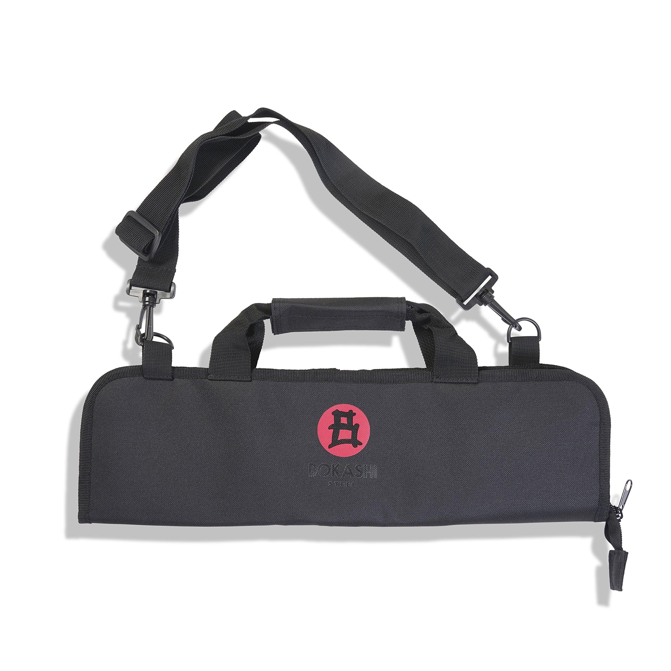 Bokashi Steel 6 Pocket Chef Knife Roll Bag (Bag Only)