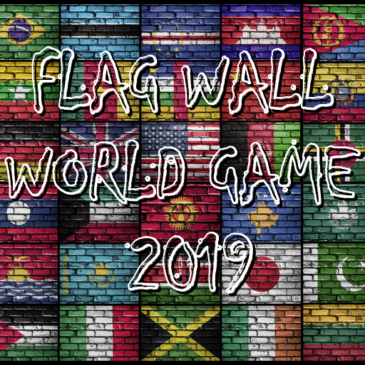 FLAG WALL WORLD GAME 2019