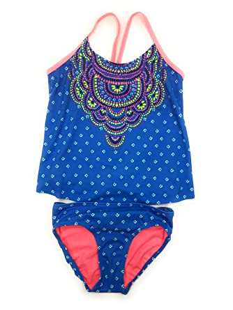 623eeb6995f5b Amazon.com: Justice Big Girls' Swimsuits Tankini Bathing Suits Mult Sizes  Colors: Clothing