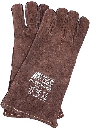 Barbacoa Guantes, Back Guantes Guantes de horno, 1 par de guantes piel Barbacoa para