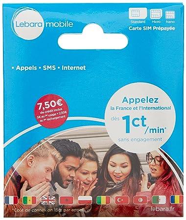 Amazon.com: Francia tarjeta SIM de prepago – € 0.01 por ...