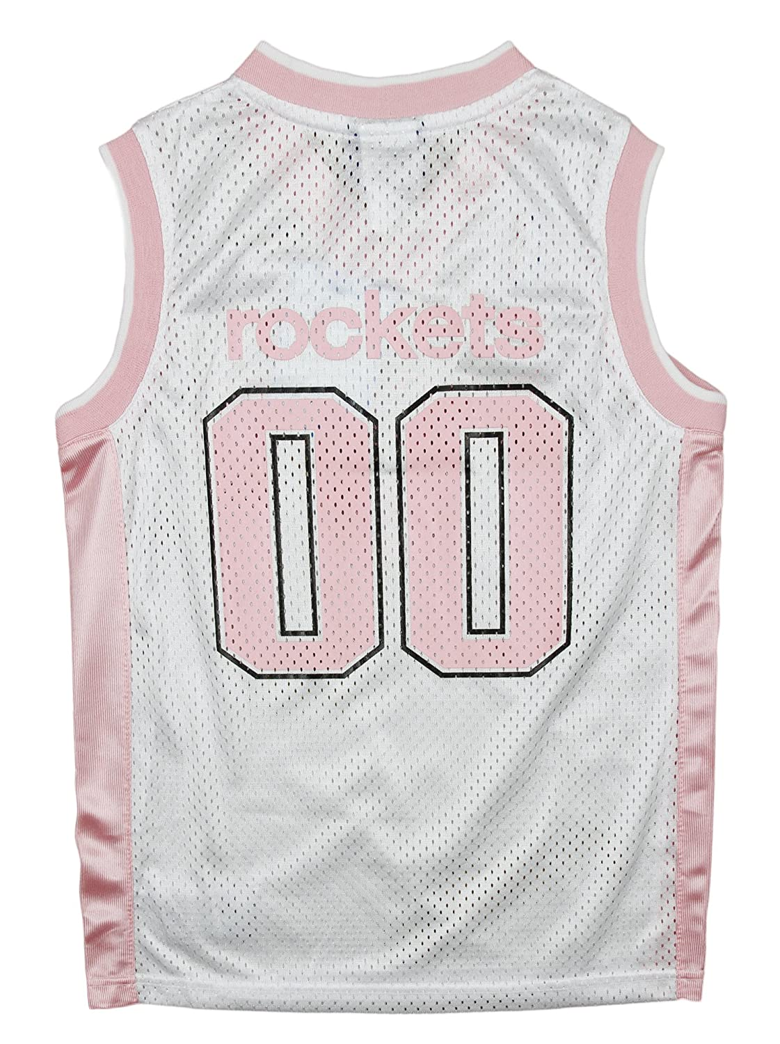 Reebok Houston Rockets NBA GirlS - Camiseta réplica de Manga Corta, Color Rosa, Hombre, Color Blanco/Rosa, tamaño 42 ES/X-Large: Amazon.es: Ropa y ...