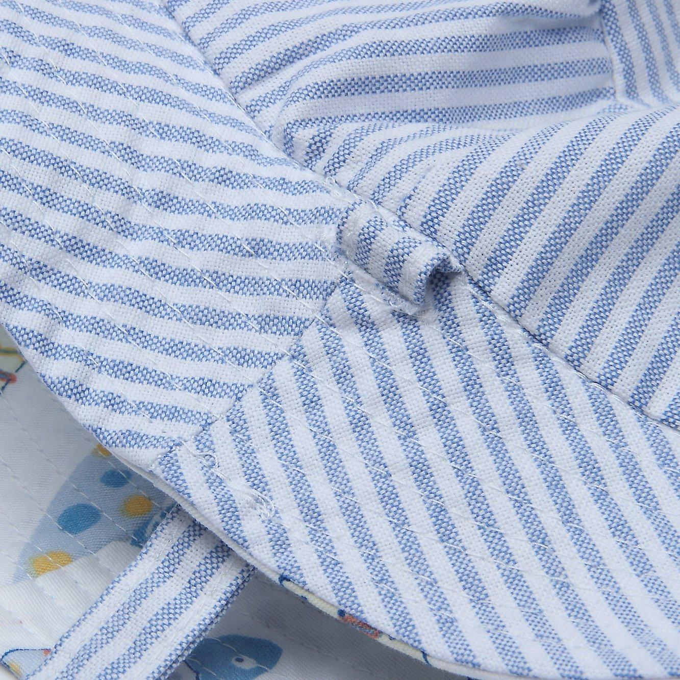 Ateid Baby Kinder Wende-Sonnenhut Sommerhut UV-Schutz