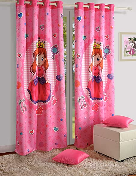 Blackout Polysatin Door Curtains For Girls Rooms Pretty Princess