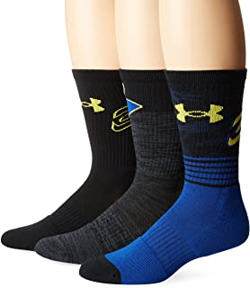 Under Armour Mens Phenom Curry Crew (3 Pack)