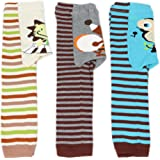 Dotty Fish Boys & Girls Baby Leggings 3 Pack - Sizes 6-12 months, 12-24 months & 24+ months