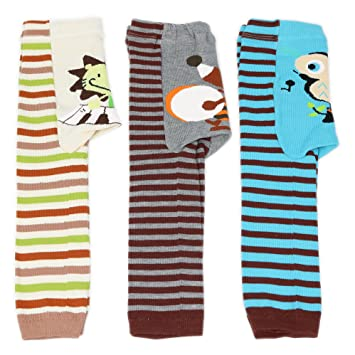 5a0a239eac2 Dotty Fish Boys Baby Leggings 3 Pack - Blue Owl