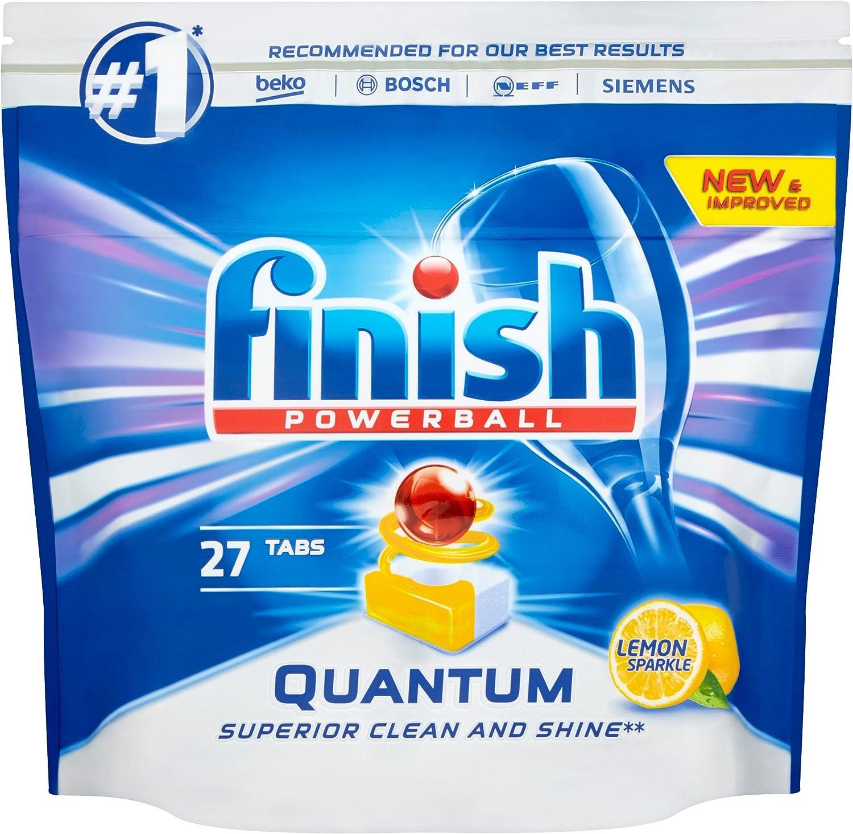 Pastillas Finish Quantum Max para lavavajillas: Amazon.es: Salud y ...