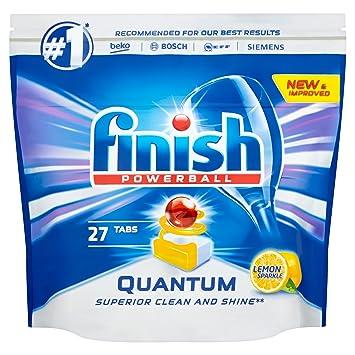 Pastillas Finish Quantum Max para lavavajillas