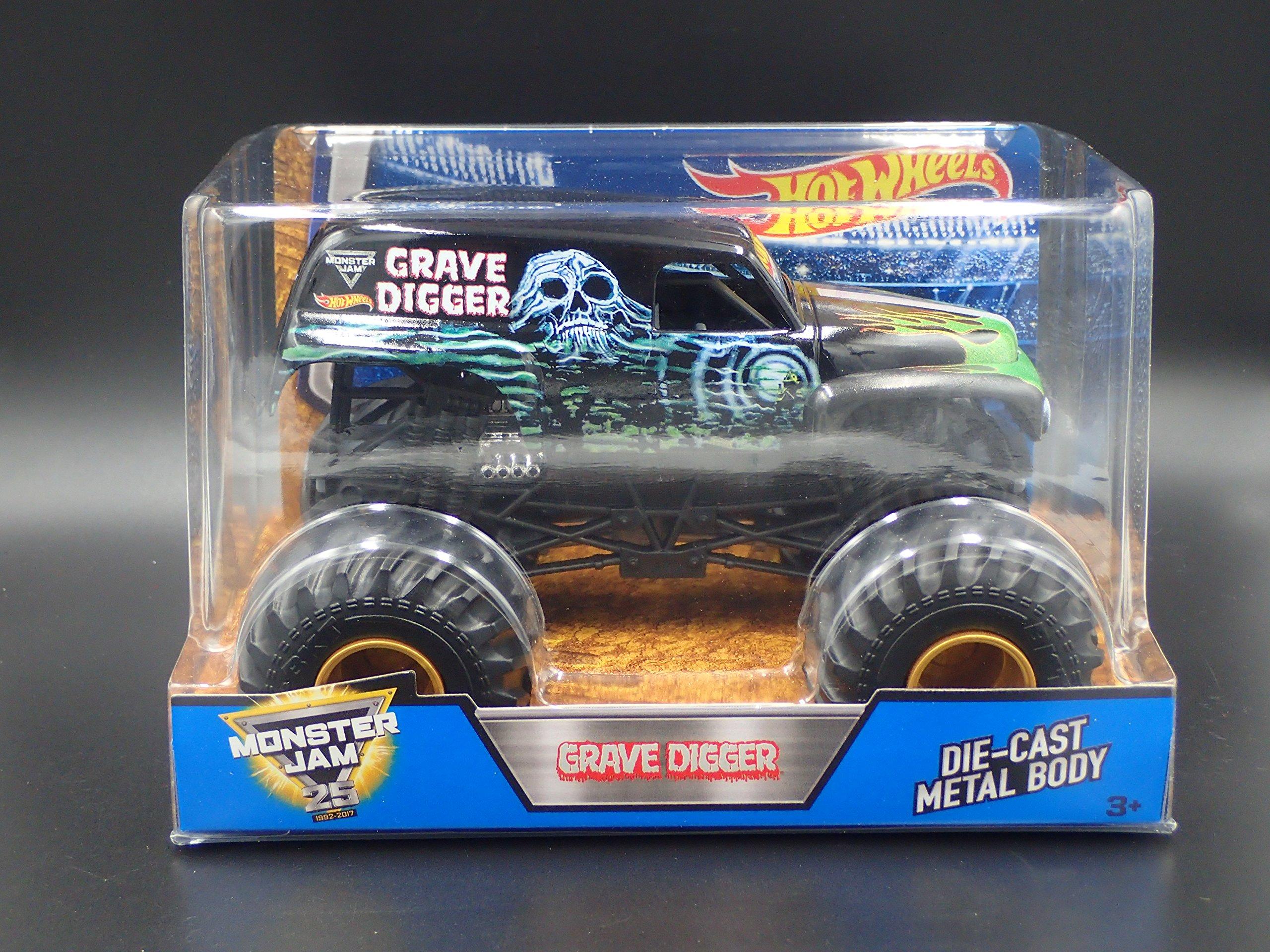 Vehículo Hot Wheels Monster JAM Grave Digger