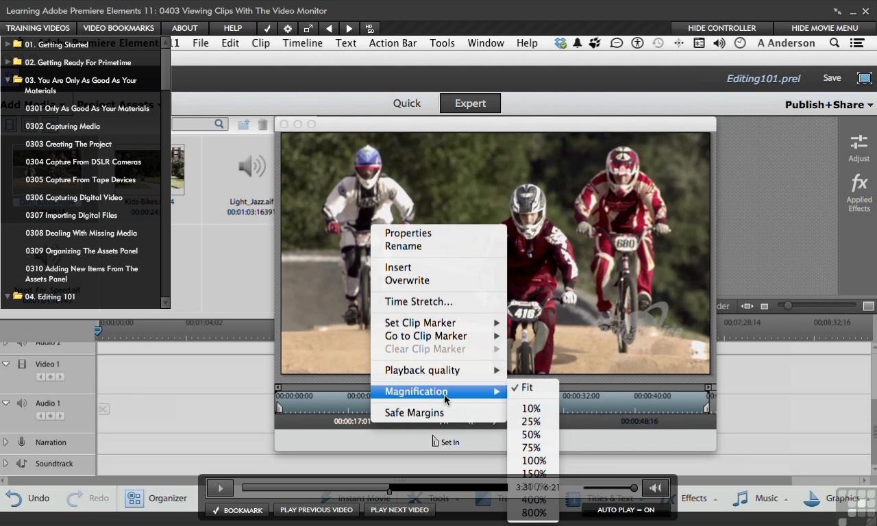Adobe Premiere Elements 11 [Online Code] by Infiniteskills