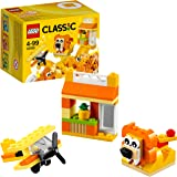 LEGO Classic Orange Creativity Building Blocks for Kids , Multi Colour (60 pcs) 10709
