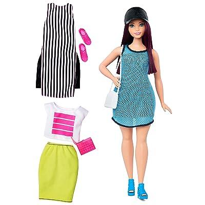 Barbie Fashionistas Doll & Fashions So Sporty, Curvy Dark-Haired: Toys & Games