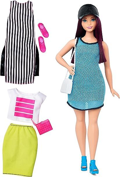 PURPLE LONG SLEEVE top FOR  CURVY FASHIONISTA Barbie doll