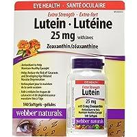 Webber naturals Lutein 25 miligram 140 softgels