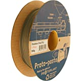Proto-pasta SSP11705 Polishable Stainless Steel Spool , PLA 1.75 mm, 500 g , Gray