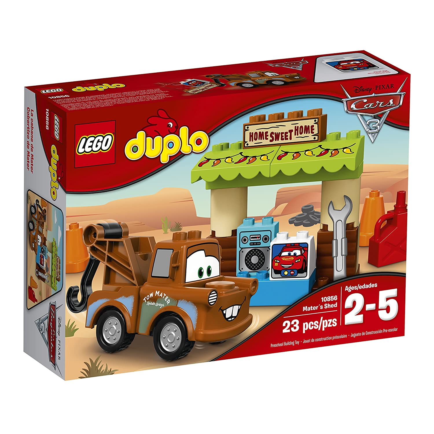 LEGO Duplo Creative Play Master Shed Toddler Cars 6174778