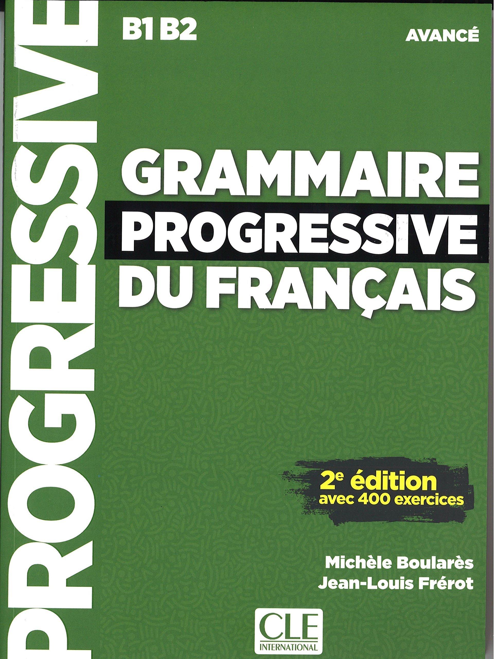 Download Grammaire progressive du français - Niveau avancé - Livre + CD - 2ème édition Nouvelle couverture (French Edition) pdf epub
