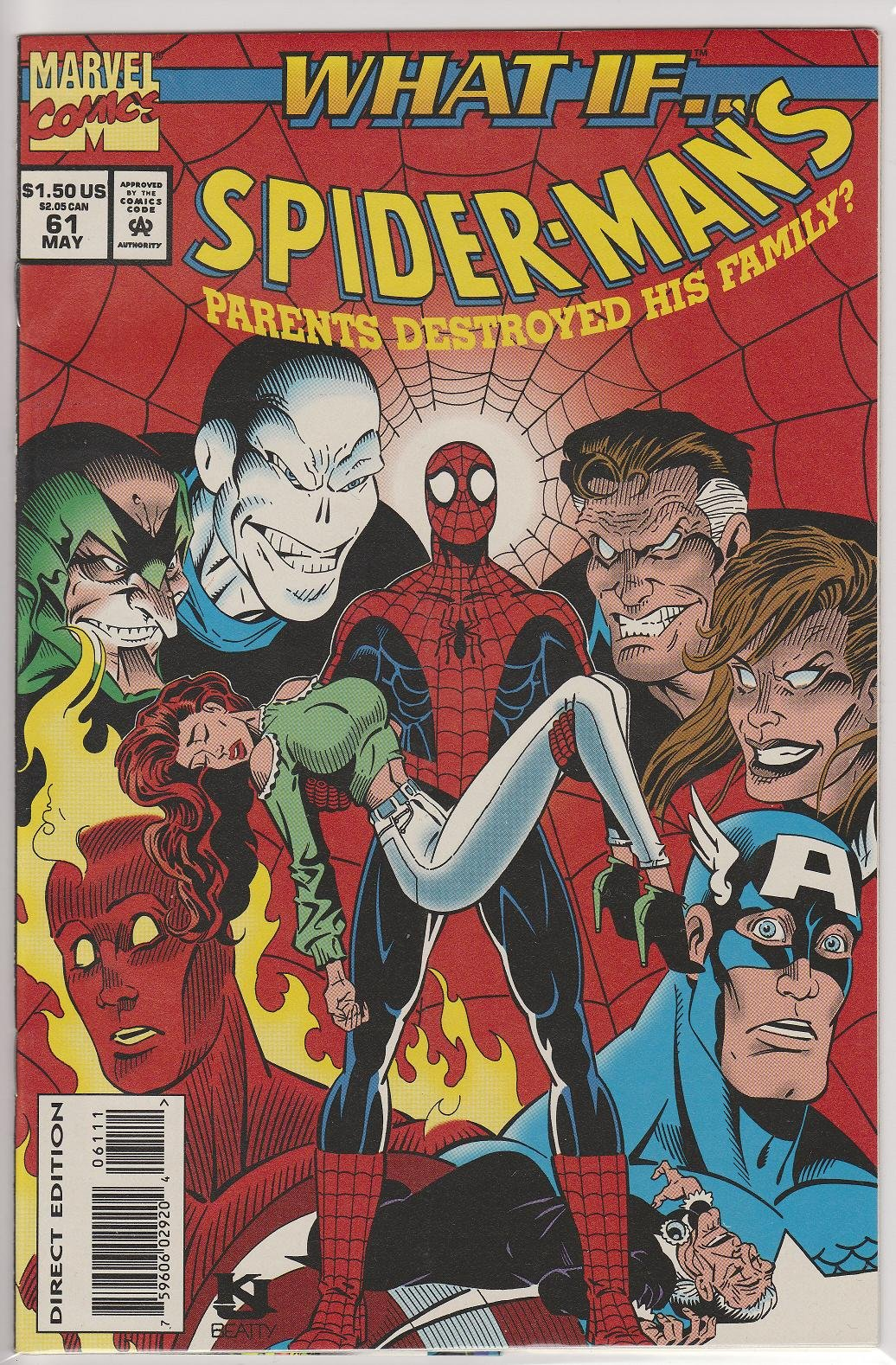 What If #61 Vol.2 (Spider-Man's Parents Destroyed His Family?): Amazon.com: Books