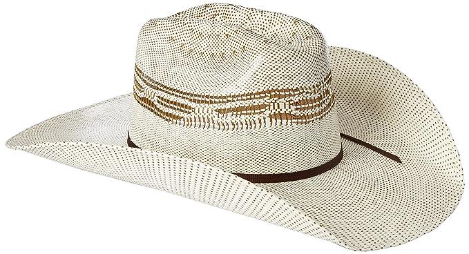 6624a47dbb04f Twister Men s 2-Tone Brown Bangora Maverick Cowboy Hat at Amazon ...