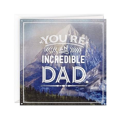 Amazon.com: Tarjeta de felicitación para el día del padre de ...