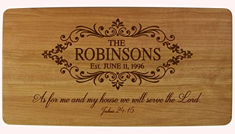 Amazon personalized wedding anniversary gifts family name