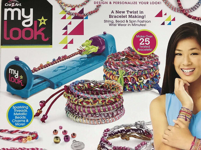 Amazon Com Cra Z Art My Look Twist N Wear Fashion Maker Toys Games