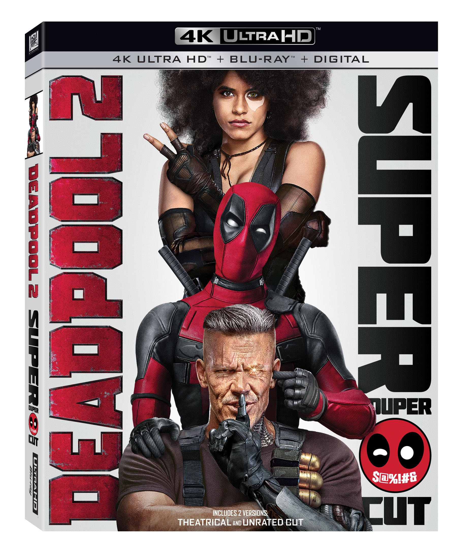 Blu-ray : Deadpool 2 (4K Mastering, Subtitled, Widescreen, Dolby, 3PC)