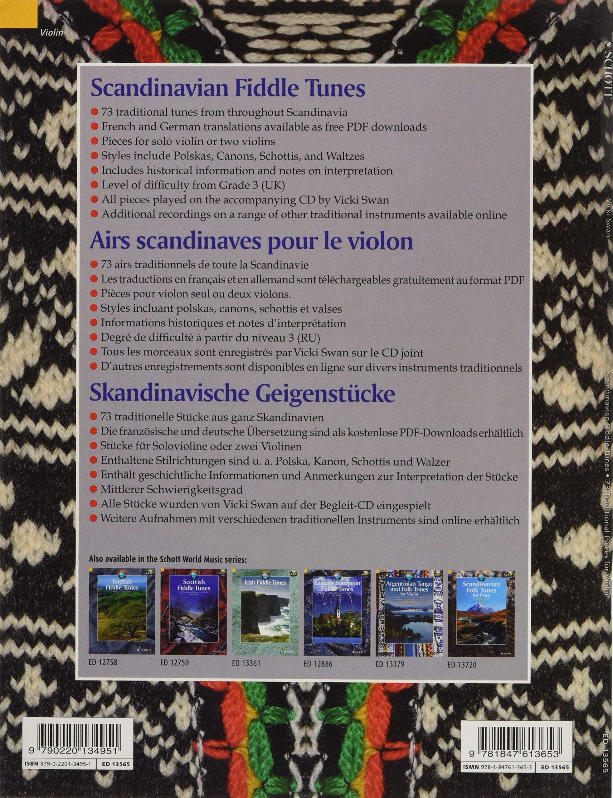 Scandinavian Fiddle Tunes 73 Pieces For Violin Argentine Tango Steps Diagram Companion Ebook 0888680041304 Vicki Swan Hal Leonard Corp Books