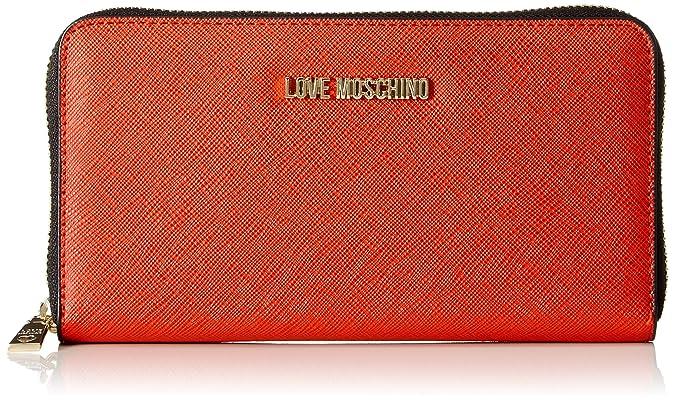 Love Moschino - Portafogli Pu, Carteras Mujer, Rojo (Rosso), 3x11x20 cm (B x H T): Amazon.es: Zapatos y complementos