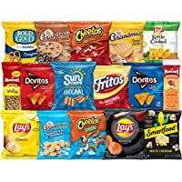 Frito-Lay Ultimate Classic Snacks Package, Variety Assortment of Chips, Cookies, Crackers, & Nuts (40 Pack)