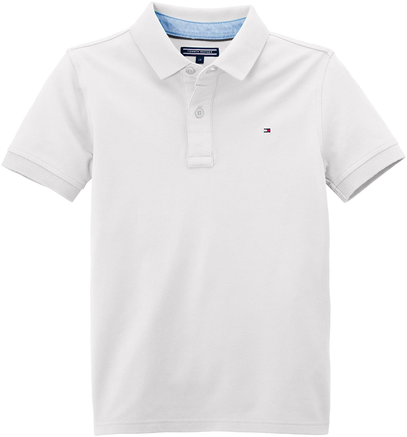 Tommy Hilfiger Tommy Polo S/S, Niños, White 100 18-24 Meses (86/92 ...